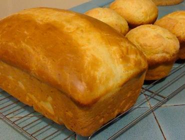 Sally Lunn loaf & buns