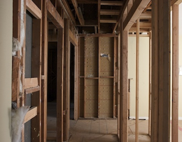 interior framing, week 1: hallway