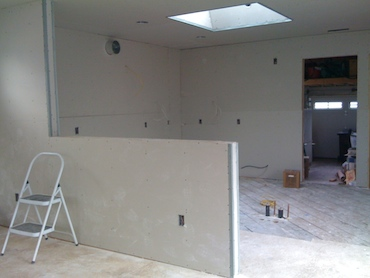 rough drywall