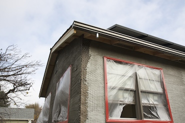 1st layer exterior stucco