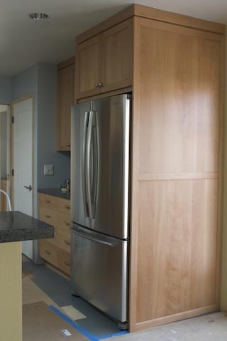 fridge installed