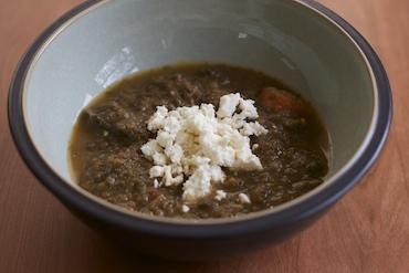 lentil kale soup