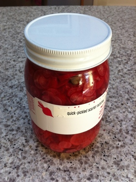 ruby radish pickle