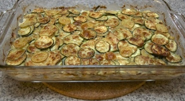 Zucchini-sweet potato gratin sm