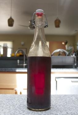 cherry wishniak from the fridge