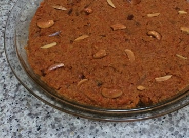 gajar ka halwa, or Desi carrot pudding