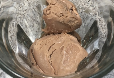 gianduja ice cream